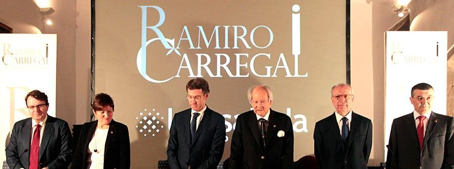 El Dr. Eduardo Díaz-Rubio recoge el IV Premio de Investigación Oncológica Ramiro Carregal-Fundación La Rosaleda