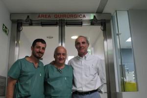 Doctores Fernández Lareo Amado y Martínez Sayanes