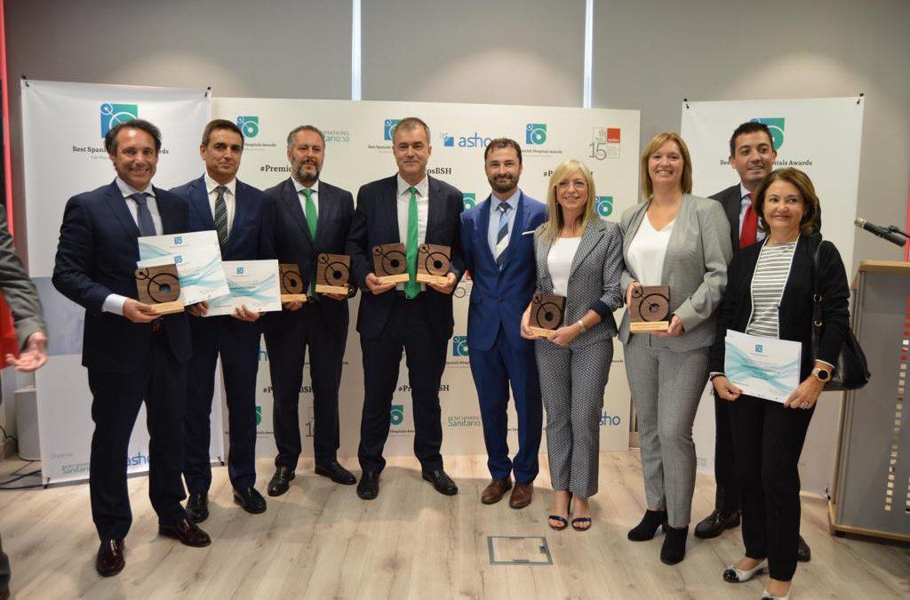 El Hospital Quirónsalud A Coruña, premiado en cuatro categorías de los Best Spanish Hospitals Awards