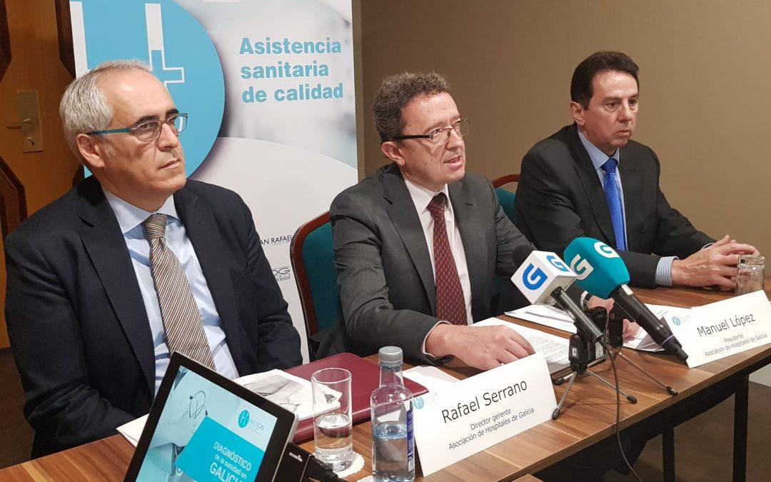La sanidad privada incrementa su actividad en Galicia, a pesar de la reducción de los conciertos con la pública
