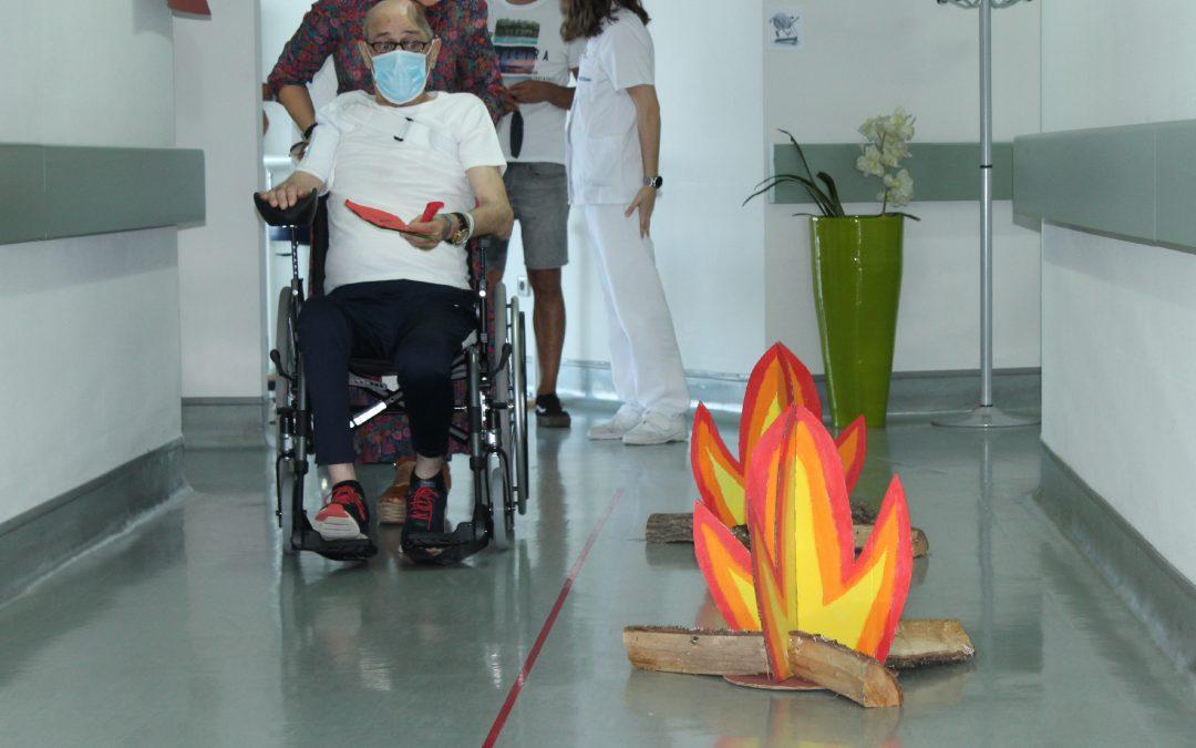 Romaría terapéutica en el Hospital Vithas Vigo