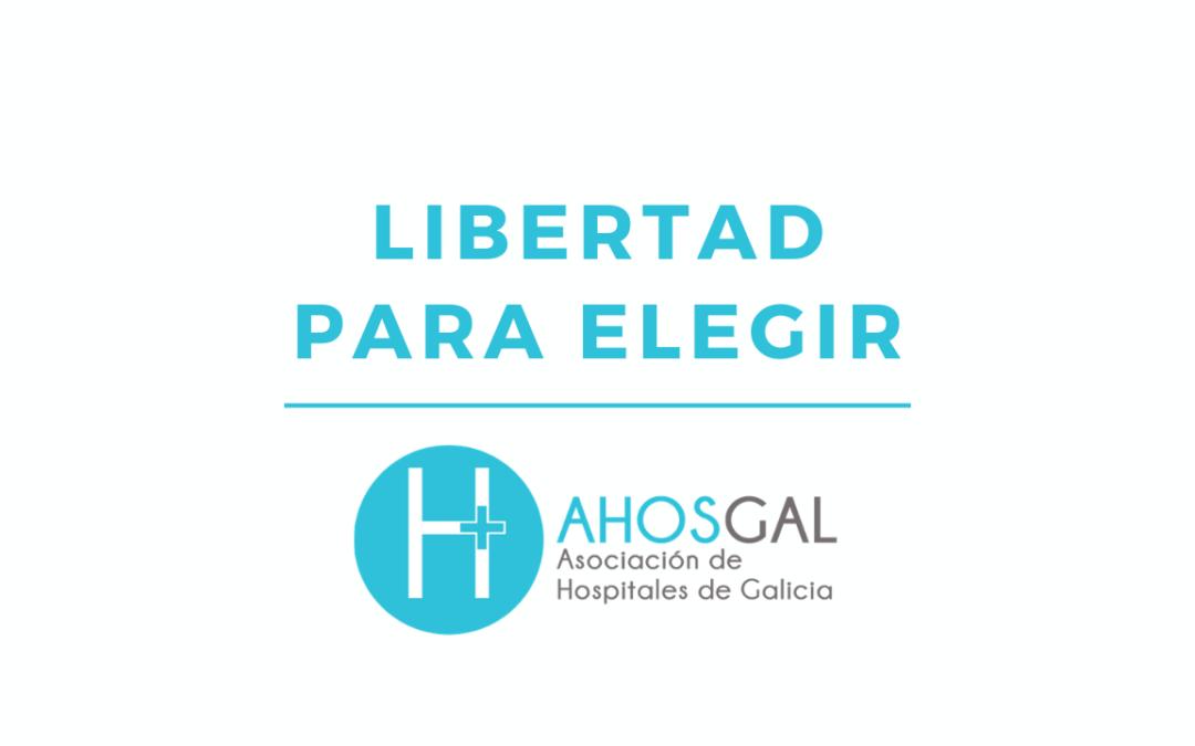 Ahosgal recuerda a los usuarios que tienen 'libertad para elegir', en caso de accidente de tráfico